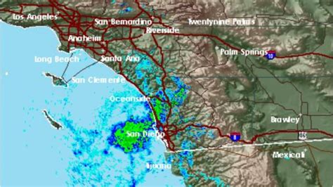 rain from hurricane paine douses san diego on last day of
