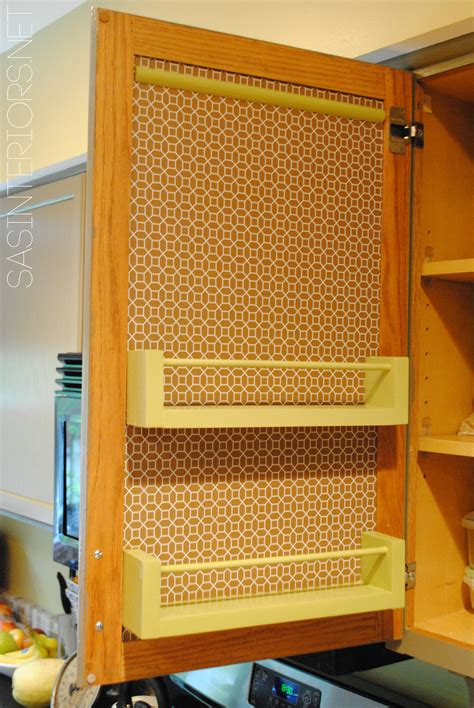 kitchen cabinet door organizers kitchen organization ideas for the inside of the cabinet