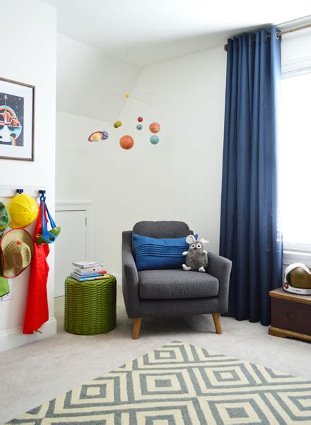 outer space bedroom outer space bedroom for a special family young house love 12757 | Outer Space Kids Room Corner