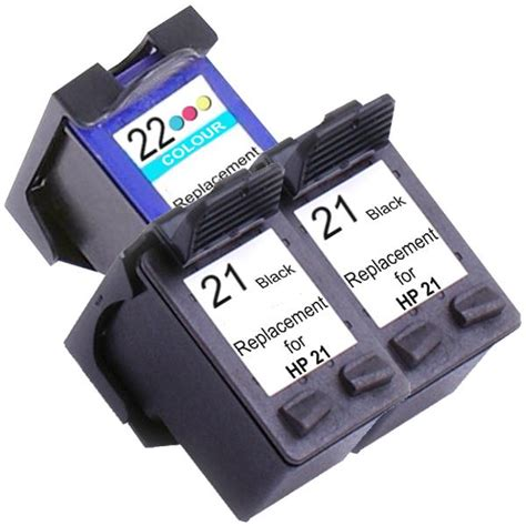 Printer Hp F2179 hp printer 21xl remanufactured inkjet cartridge set 2 3 ink cartridges