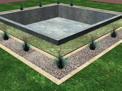 what is the foundation of a house how to install a drainage system around the foundation of