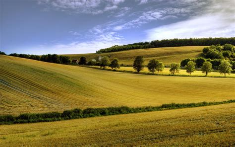 Landscape Pictures Size Hd Summer Field Landscape High Resolution Pictures
