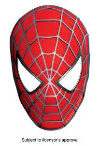 free coloring pages of masks of spider man