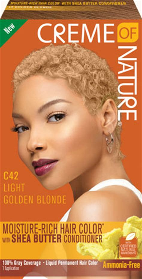 creme of nature hair color light golden creme of nature
