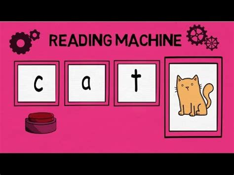 5 Letter Words I In The Middle reading machine middle a cvc words blending 3 letter