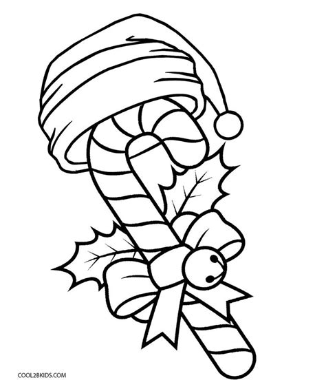 Free Printable Candy Cane Coloring Pages For Kids Cool2bkids Canes To Color