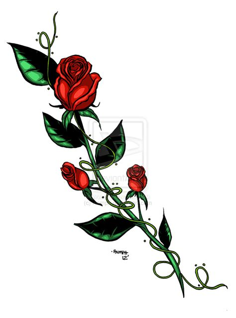 rose bush tattoo designs design by anmph on deviantart