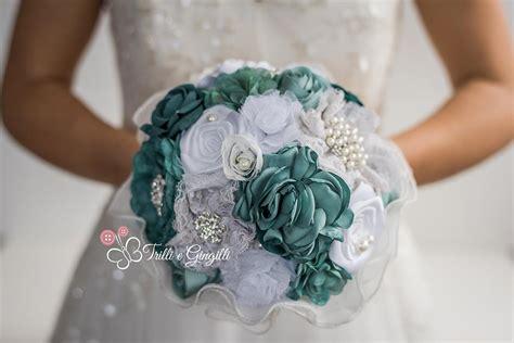 realizzare fiori di tessuto bouquet sposa di stoffa e tessuto ecco i modelli pi 249