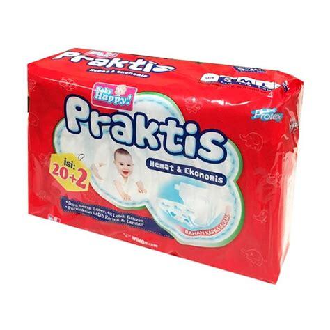 Popok Bayi Baby Happy L30 jual baby happy praktis popok bayi size s 20 pcs harga kualitas terjamin