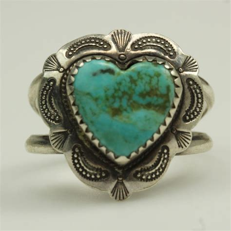 sterling silver 4 4g qt shaped turquoise ring