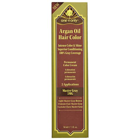 can you use argan oil after a perm one n only argan oil gray series permanent hair color cream