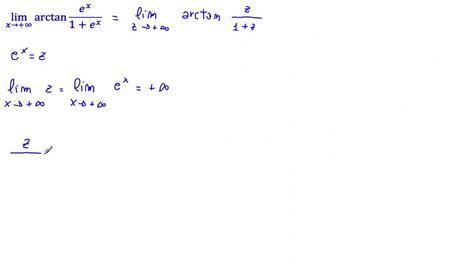lim x tende a 0 limite cambiamento di variabile lim arctan e x 1 e
