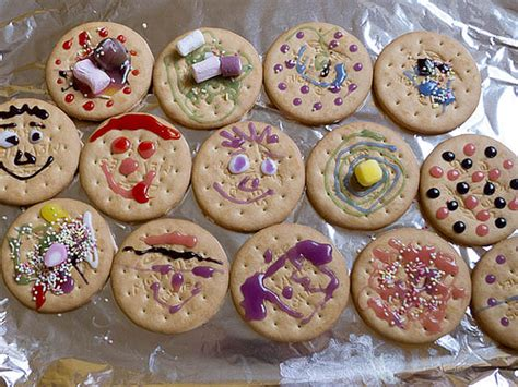 Biscuit Decorating For by Decorated Rich Tea Biscuits S Creations For