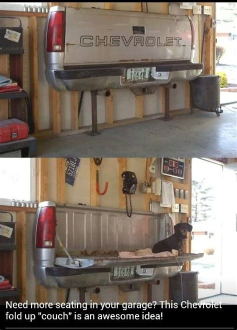 tailgate sofa tailgate couch garage pinterest thoughts the o
