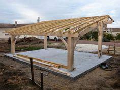 auvent bois 1502 carport bois 224 prix imbattable carport adossant bois 2