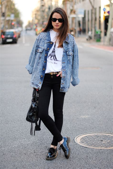 Jaker Semi Kulit Cewe Bomber 14 ways how to wear denim jacket always in trend always in trend