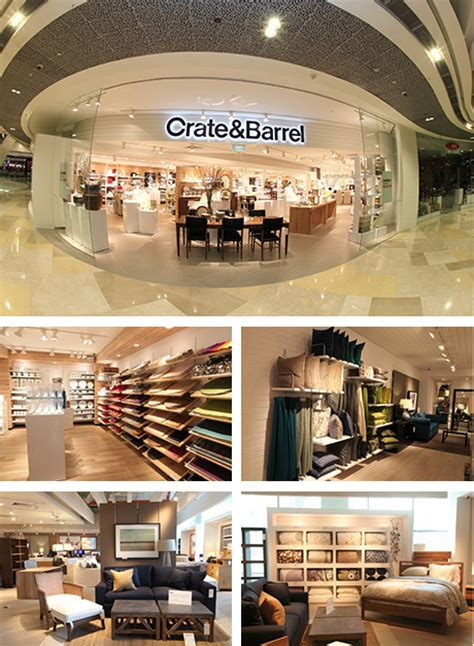crate and barrel affiliate stores luxury furniture