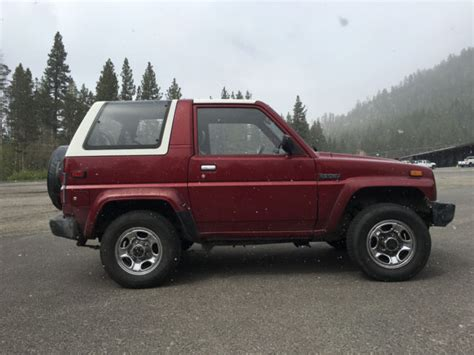 1990 Daihatsu Rocky Mpg 1990 Daihatsu Rocky Se 4 X 4