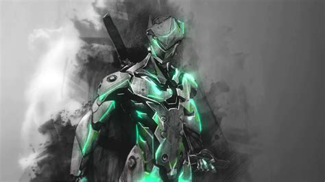 wallpaper engine free wallpapers overwatch genji for wallpaper engine links youtube