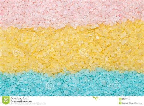 yellow and pink bathroom blue yellow and pink aromatic bath salt stock images image 29127764