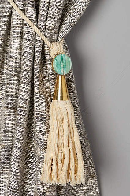 anthropologie curtain tie backs watershed tieback anthropologie and kitchens
