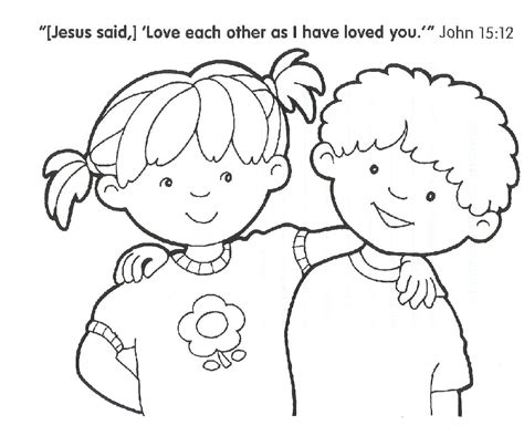 Christian Coloring Pages For Kindergarten | free coloring pages of adult religious