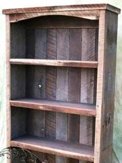 bookcase  built  wood reclaimed  barns