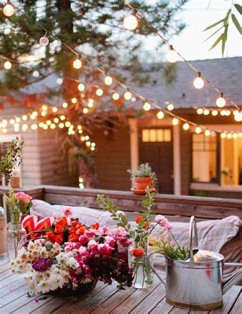 Outside Lights For Patio 20 Amazing String Lights For Your Outdoor Patio Home Design And Interior
