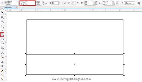 membuat kartu nama dengan corel x7 tutorial membuat kartu nama di coreldraw x7 techsigntic