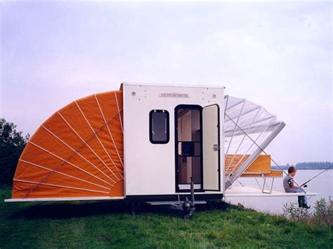 Fold Out Awning by De Markies Trailer Folds Out To Its Size