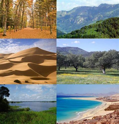 imagenes de habitats naturales el secreto de los paisajes el clima