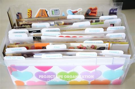 Tab Dispensers For Your Scrapbook Layouts by 25 Best Ideas About Sticker Organization On
