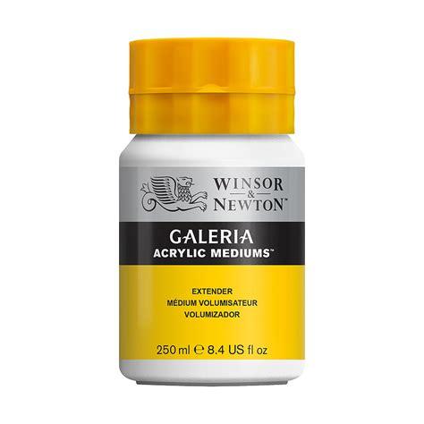 Quality Winsor Newton Galeria Acrylic Extender 500ml W N Galeria Extender 250 Ml Hlstore Highlights