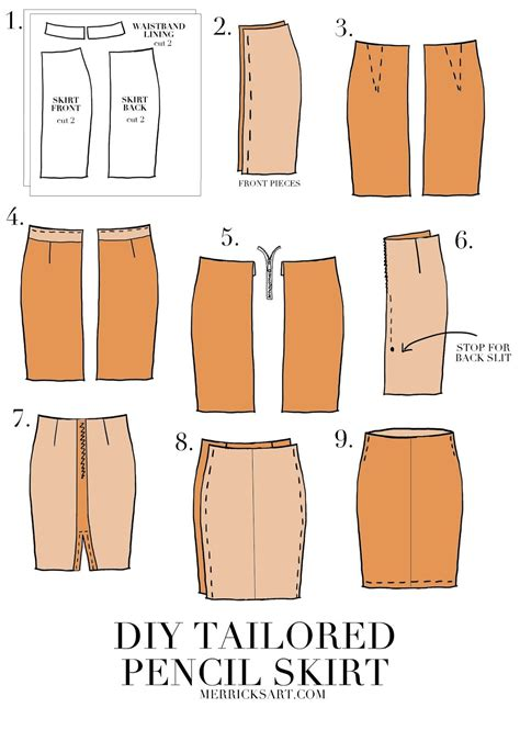 pattern for simple pencil skirt diy suede midi pencil skirt skirt sewing sewing