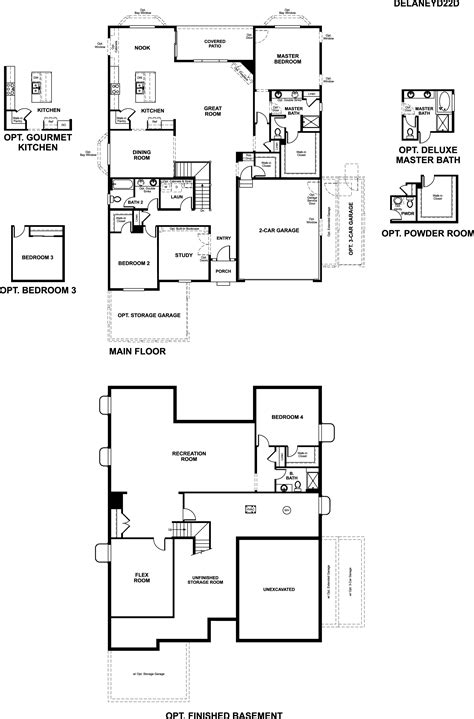 richmond american floor plans richmond american homes floor plans