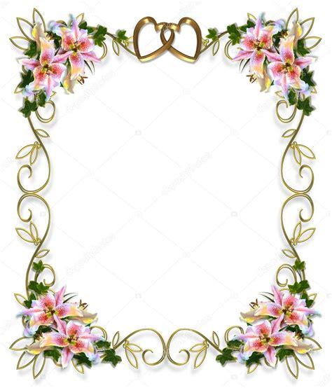 Bonia Bunga Silver invitation de mariage fleurs de lys photo 2077957