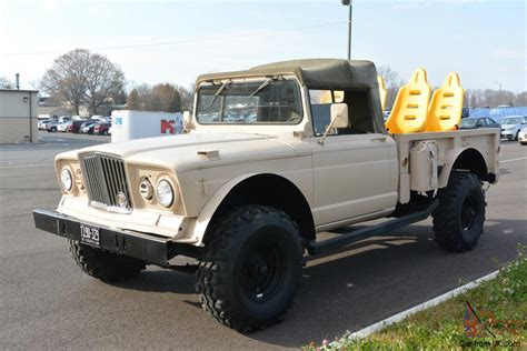 jeep kaiser 1968 kaiser military jeep