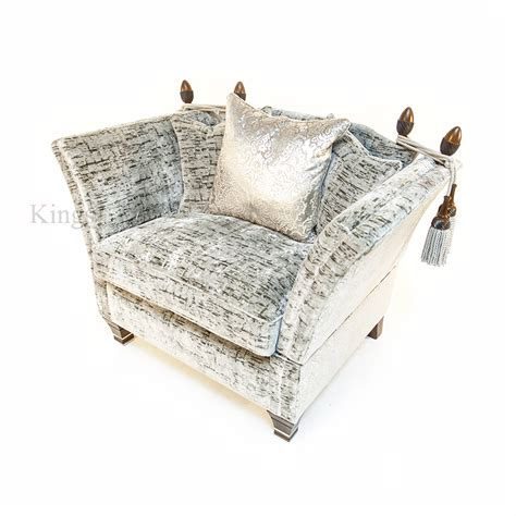 Sofa Snuggler by David Gundry Upholstery Large Madrid Knole With Snuggler