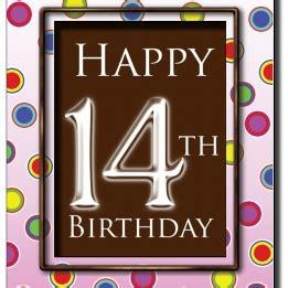 Birthday Card For 14 Year Boy Happy 14th Birthday Son Quotes Quotesgram
