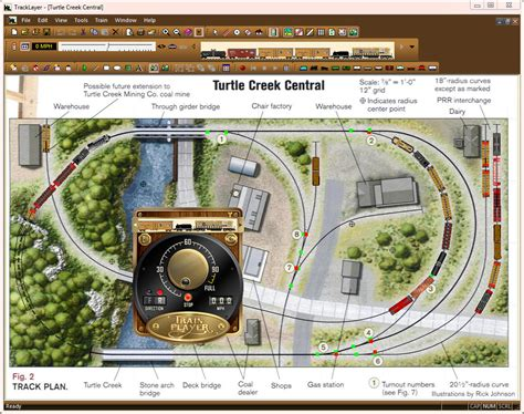 track layout software mac trainplayer screen shots