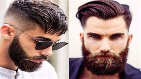 best hair styles to compliment a beard top 10 best beard styles for men 2017 2018 new trendy