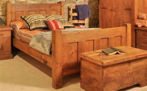 rustic plank bedroom furniture