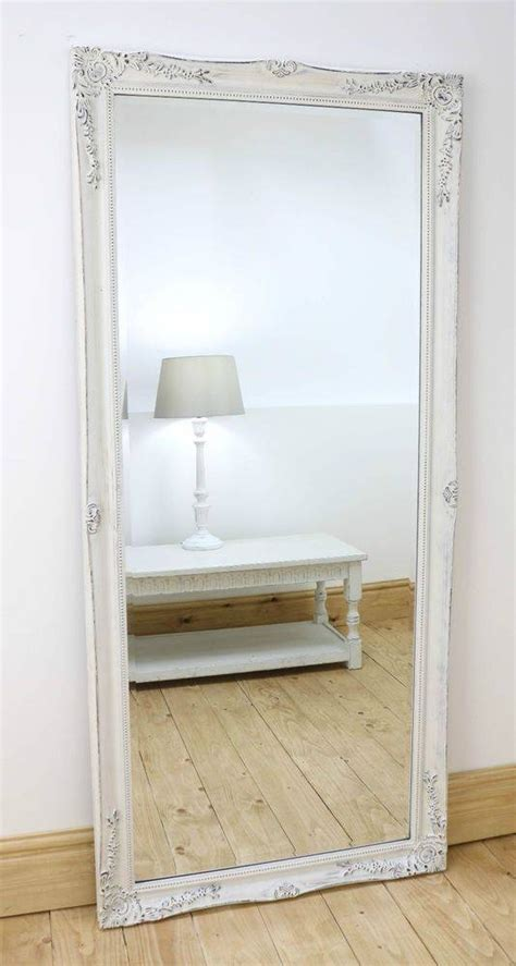 Best 25 White Full Length Mirrors Ideas On Pinterest | 30 photo of shabby chic free standing mirrors