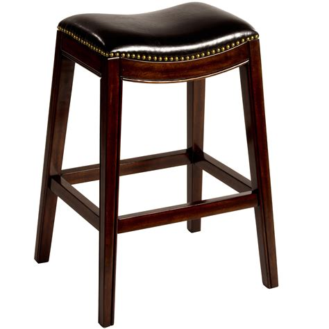counter stool bench hillsdale backless bar stools 26 quot sorella saddle backless counter stool wayside