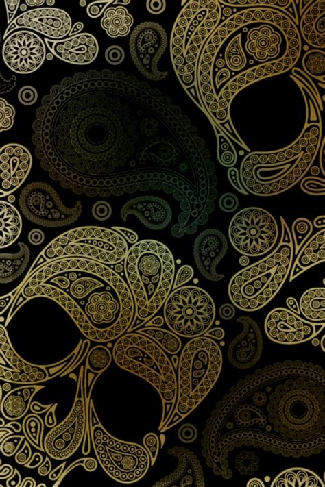 Skull Wallpaper Iphone 4 4s 5 5s 5c 6 6s Plus Samsung S6 S7 skull pattern iphone 4 wallpaper and iphone 4s wallpaper