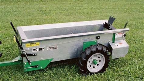 livestock equine equipment msg manure spreaders