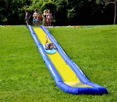 backyard slide plans diy backyard water slide outdoor furniture design and ideas