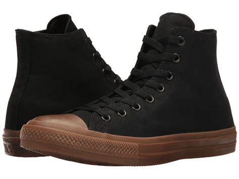 Converse Chuck Hi Top Gume Sole converse chuck 174 all 174 ii gum hi black black gum zappos free shipping both ways