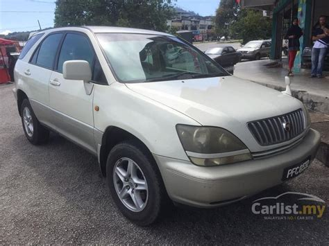 toyota harrier 2000 toyota harrier 2000 2 2 in kedah automatic suv white for