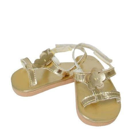 american made sandals doll clothes ag 18 quot sandals shoes gold springfield made